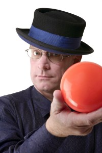 Prop Comic and Juggler Fred Anderson