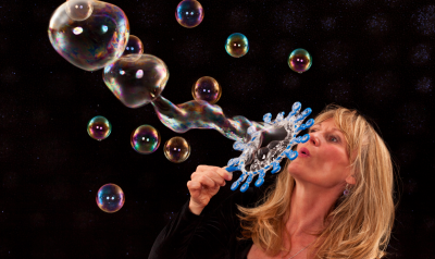 The Bubble Lady!