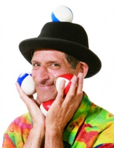 Magician, Juggler and Tongue Twister Bob Kann